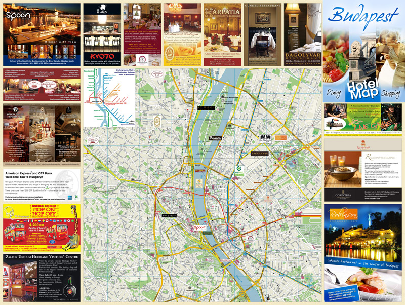 budapest látnivalók térkép Hotel Map   Budapest budapest látnivalók térkép
